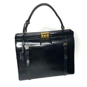 Dorian continental vintage calfskin handbag